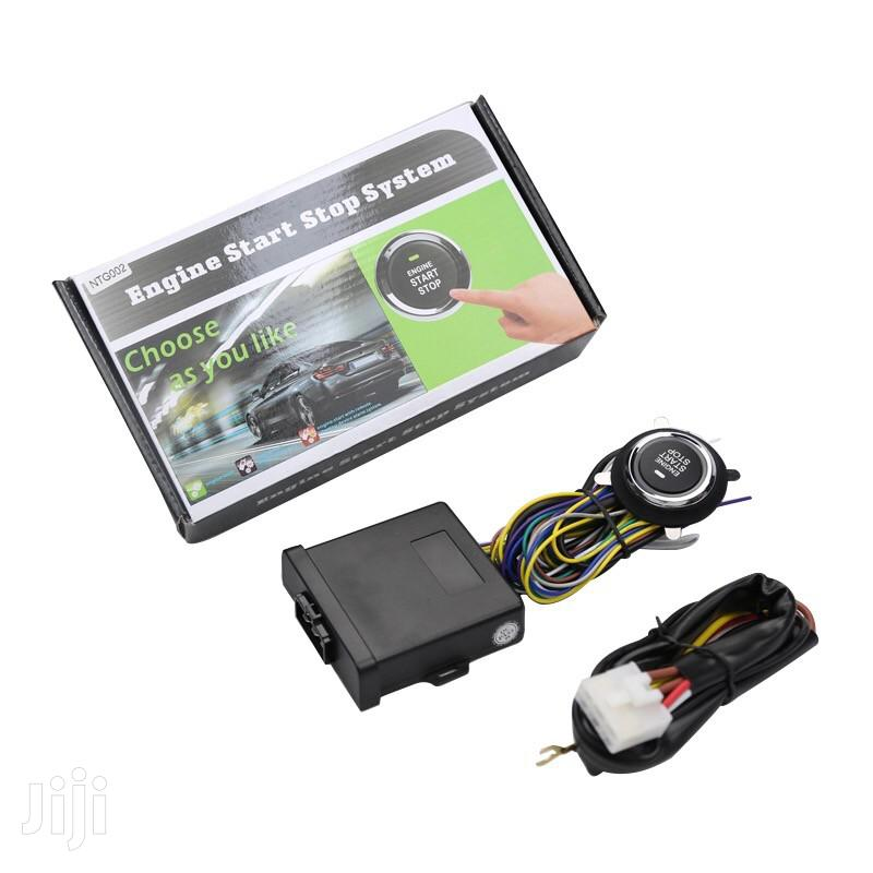 Auto Engine Push To Start Button Car Alarm | Vehicle Parts & Accessories for sale in Kampala, Central Region, Uganda
