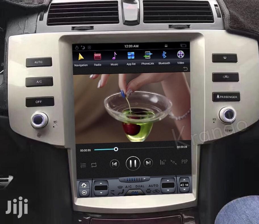 Tesla Vertical Mark X Android Radio