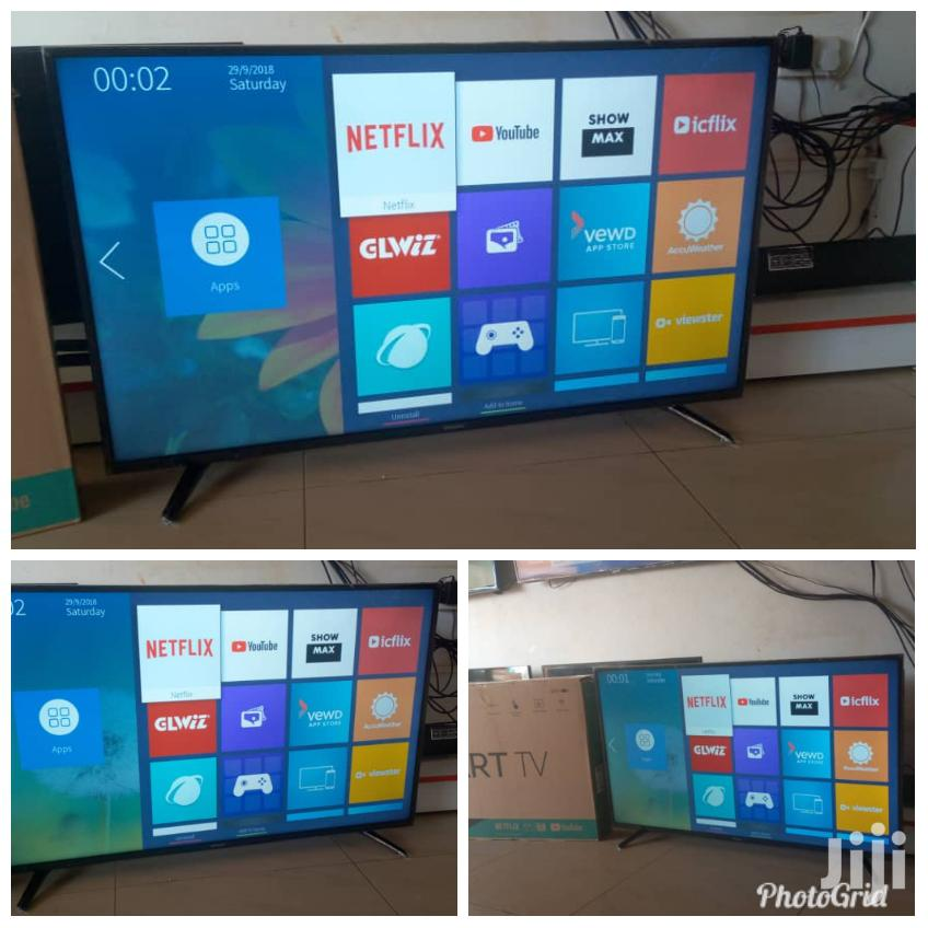 Hisense 43 Inches Digital Flat Screen With Inbuilt Free To Aire Deco