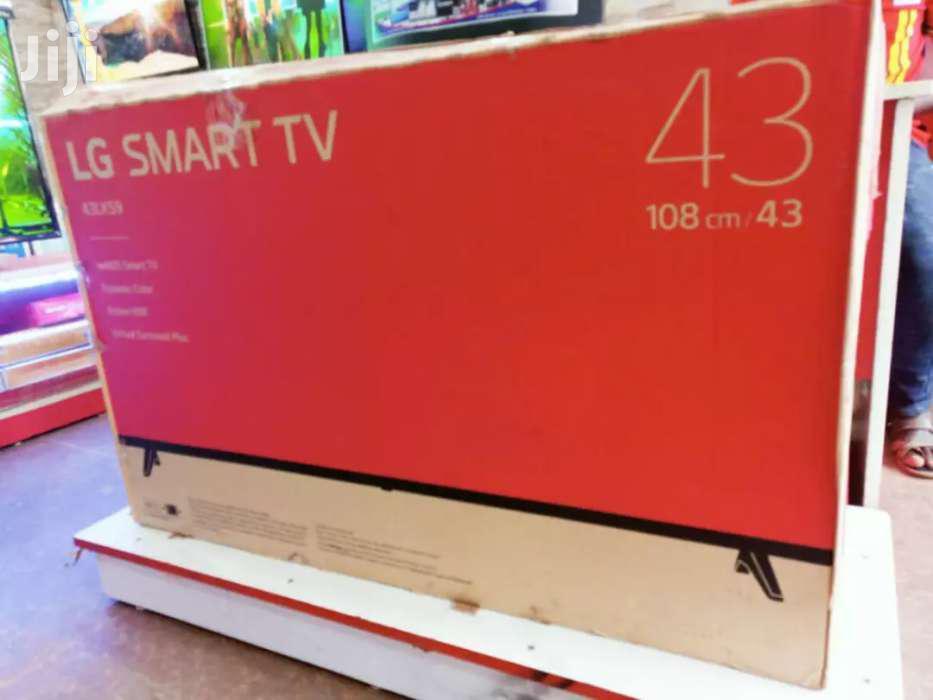 43' LG Smart UHD Tv