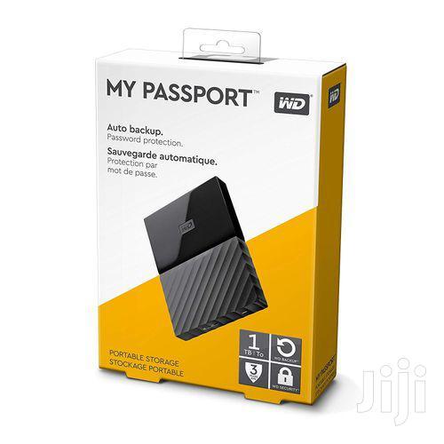 Archive: Western Digital 1TB My Passport Portable External Hard Drive - USB 3.0