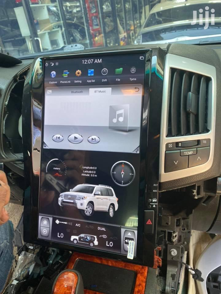 Land Cruiser V8 Tesla Android Radio System | Vehicle Parts & Accessories for sale in Kampala, Central Region, Uganda