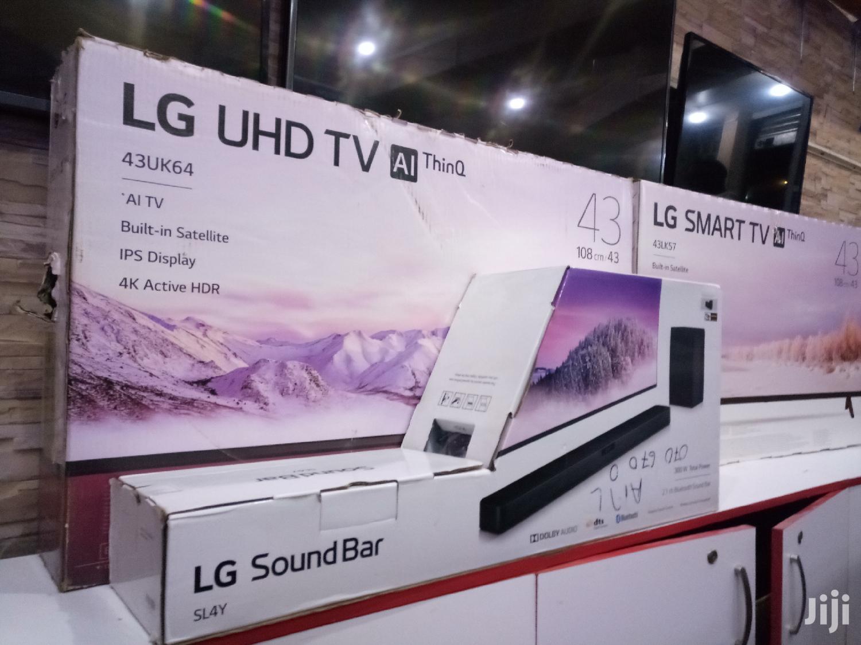 LG Uhd 4K Smart Digital Flat Screen TV 43 Inches
