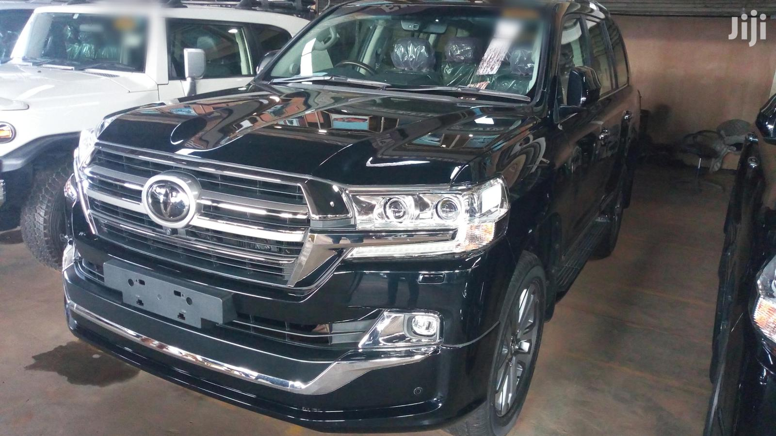 New Toyota Land Cruiser 2019 Black