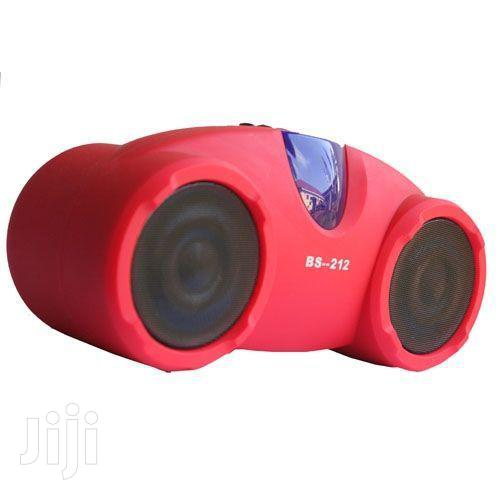 BS-212BT Rechargeable Hi-fi Portable Bluetooth Speaker - Red