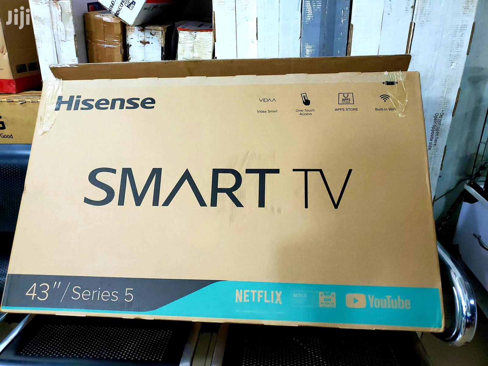 Brand New Hisense 43inch Smart Uhd 4k Tvs