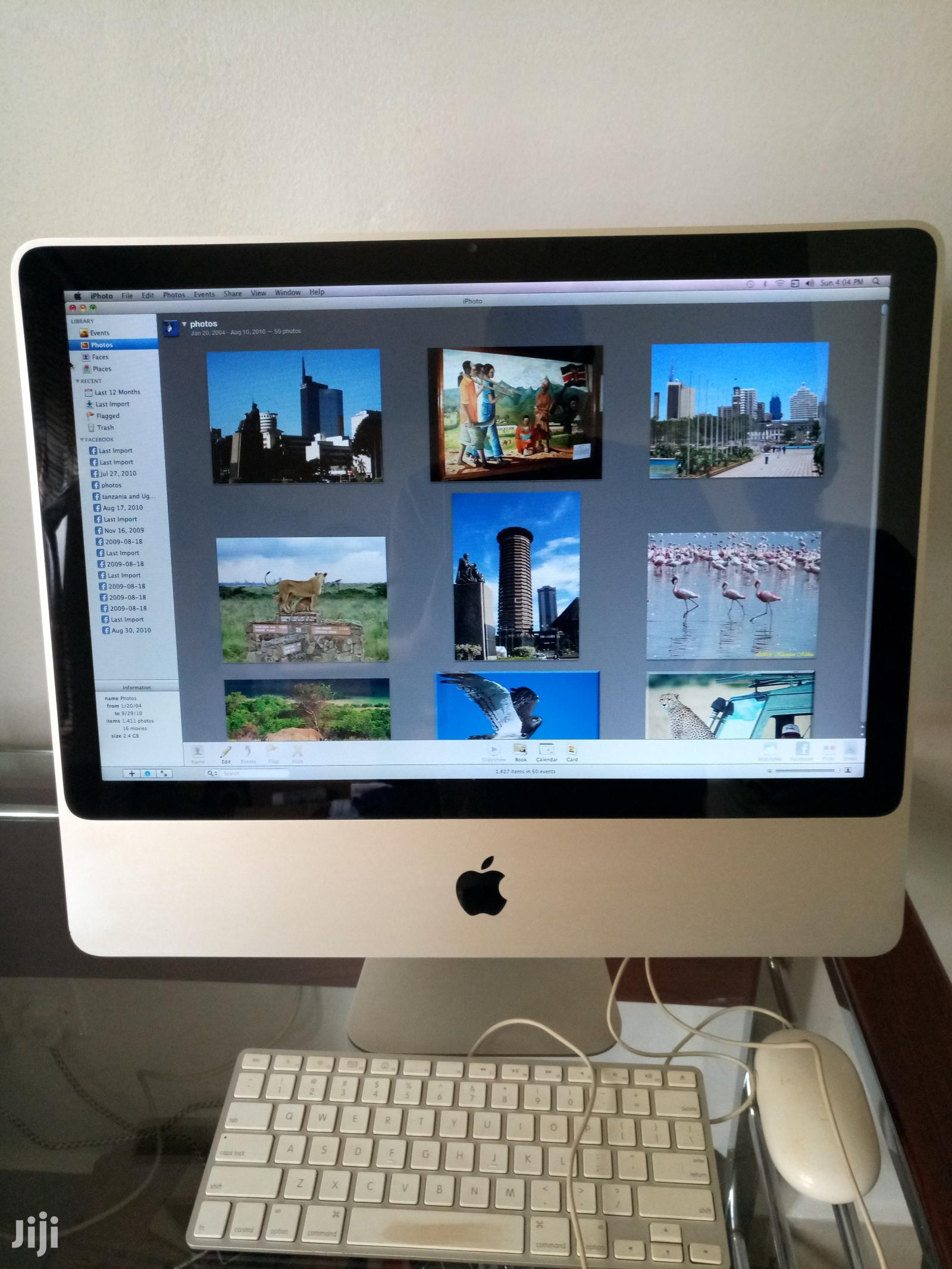 Archive: Desktop Computer Apple iMac 2GB Intel Core 2 Duo HDD 500GB