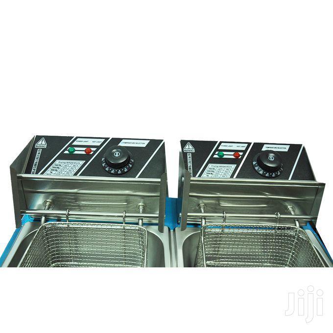 Heavy Duty Double Deep Fryer