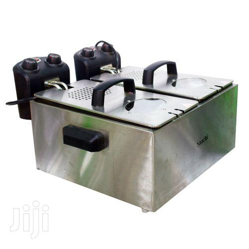 Saachi Stainless Steel Electric Deep Fryer - 6.0L | Restaurant & Catering Equipment for sale in Kampala, Central Region, Uganda