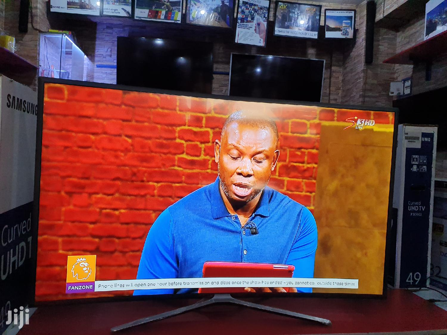 Samsung Curved Smart Tv 55 Inches | TV & DVD Equipment for sale in Kampala, Central Region, Uganda
