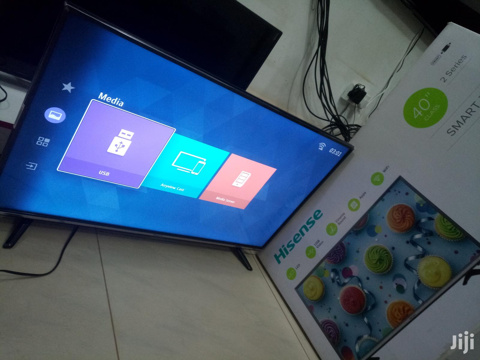 Hisense Smart Flat Screen Digital TV 40 Inches | TV & DVD Equipment for sale in Kampala, Central Region, Uganda