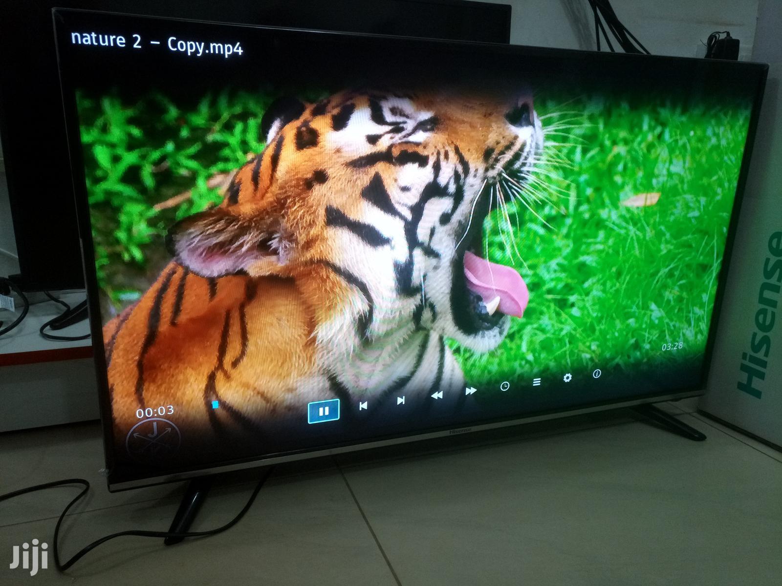 Hisense Smart Flat Screen Digital TV 40 Inches