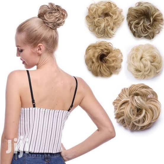Clip In Bun Extension | Hair Beauty for sale in Kampala, Central Region, Uganda