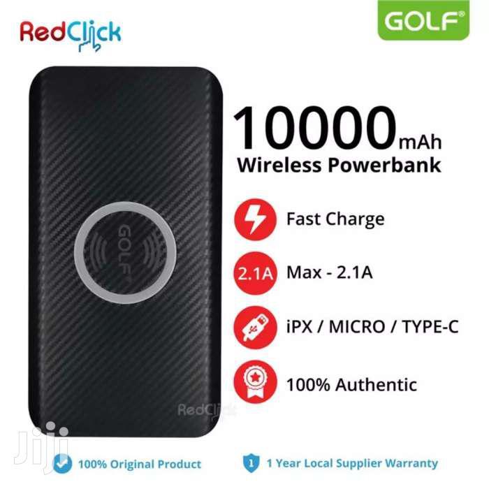 GOLF Wireless Power Bank 10000mah