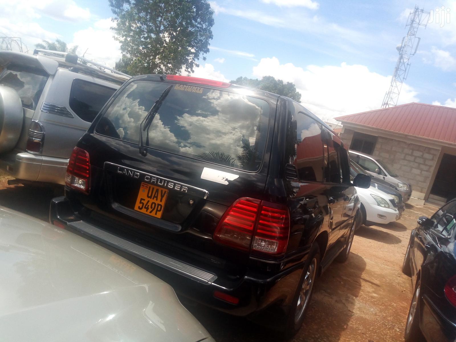 Toyota Land Cruiser 2000 Black   Cars for sale in Kampala, Central Region, Uganda