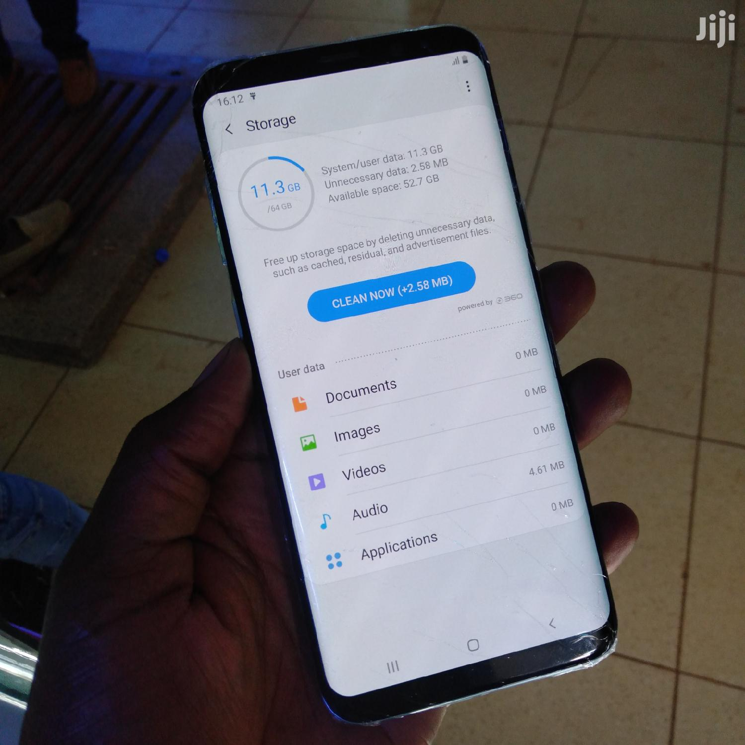 Samsung Galaxy S8 Plus 64 GB Black | Mobile Phones for sale in Kampala, Central Region, Uganda