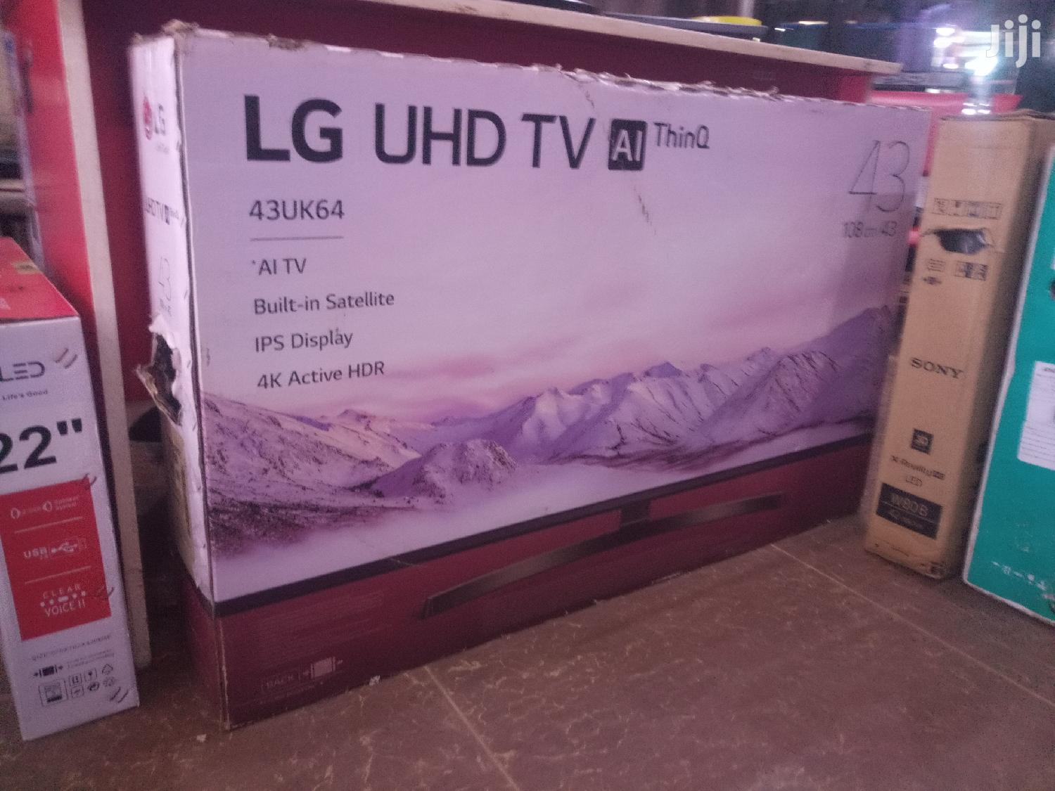 "LG 43"" Inch Uhd 4K Smart TV 