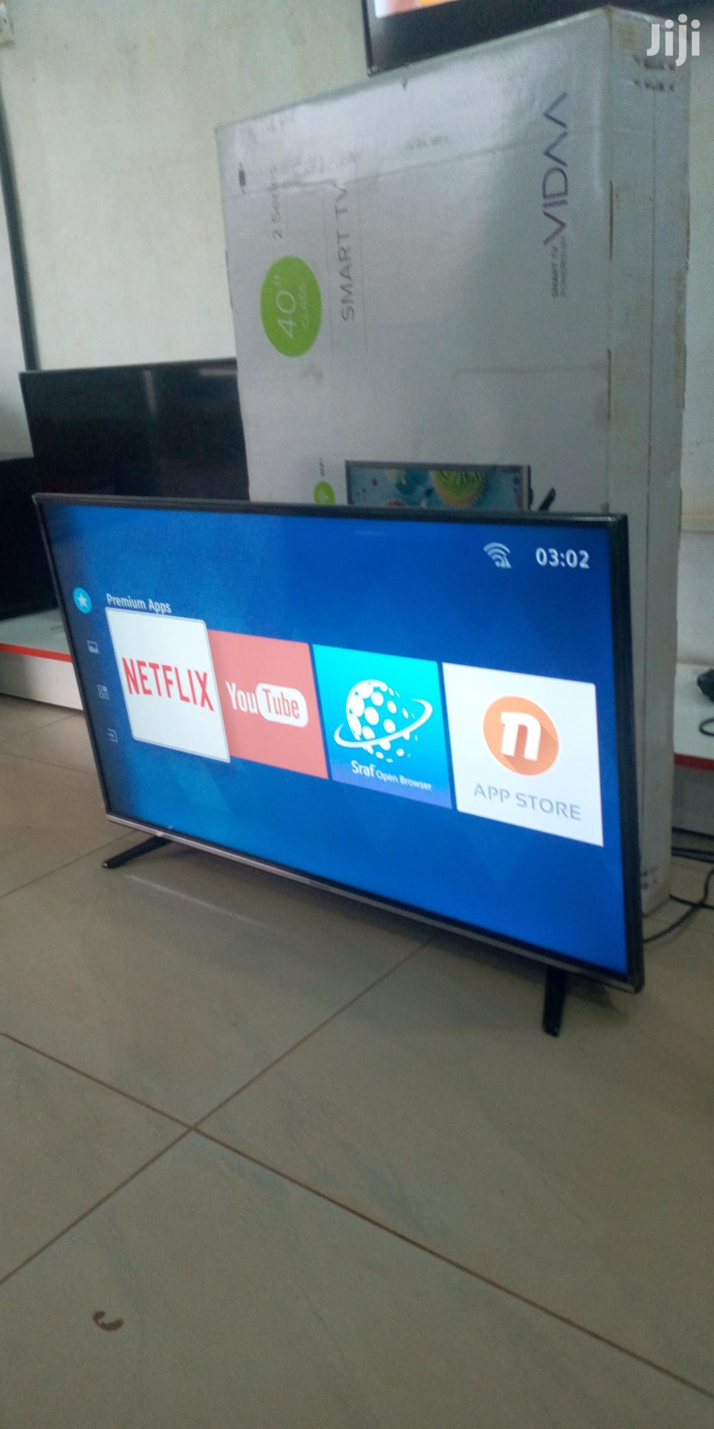 40 Inches Led Hisense Smart Flat Screen Digital   TV & DVD Equipment for sale in Kampala, Central Region, Uganda