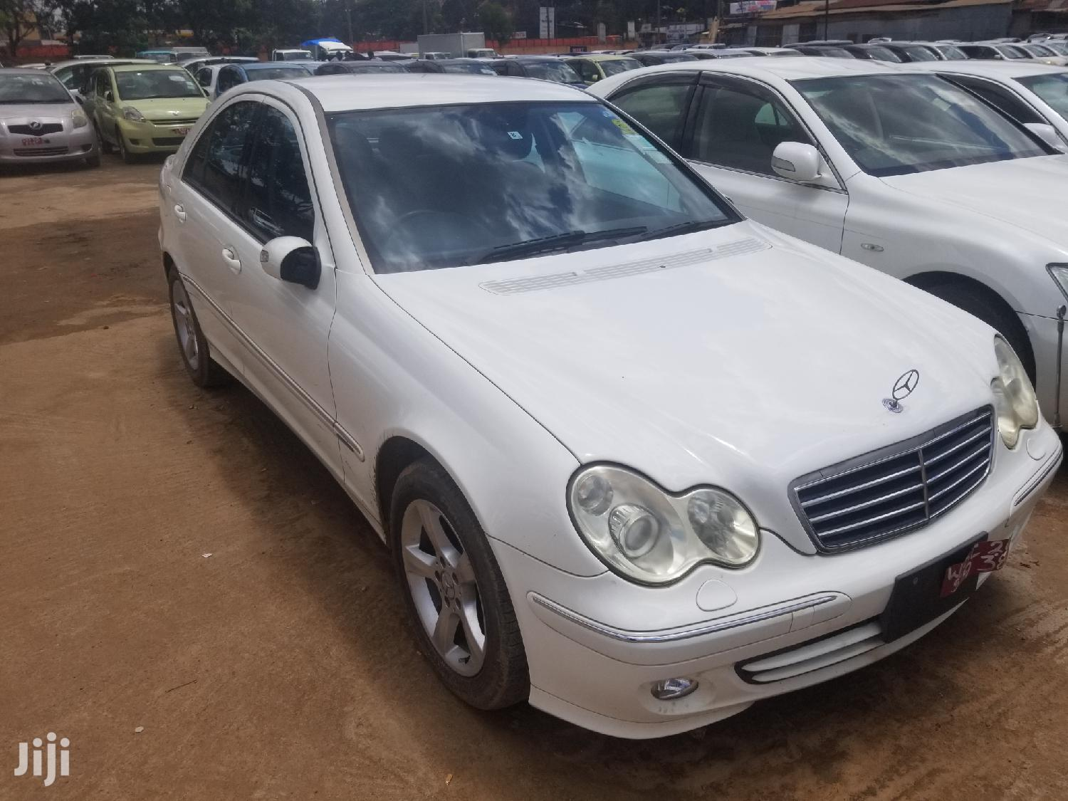 New Mercedes-Benz C180 2008 White | Cars for sale in Kampala, Central Region, Uganda