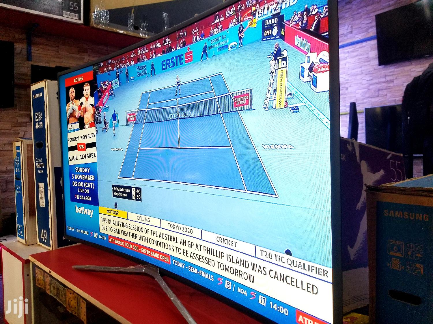 New Curved Samsung Tv 55 Inches | TV & DVD Equipment for sale in Kampala, Central Region, Uganda