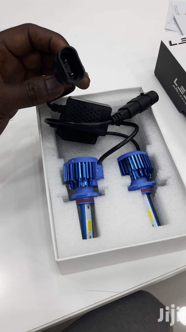 LED BULBS In Blue Style