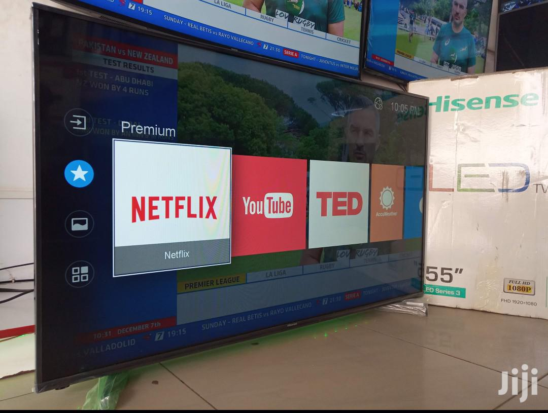 Brand New Hisense Smart UHD 4k TV 55 Inches | TV & DVD Equipment for sale in Kampala, Central Region, Uganda