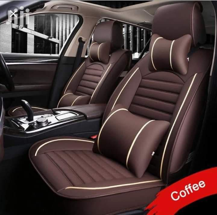 Coffee Brown Car Seat Covers