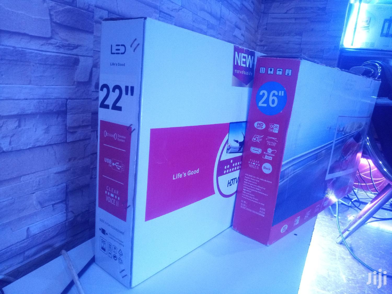 LG Flat Screen TV 22 Inches | TV & DVD Equipment for sale in Kampala, Central Region, Uganda