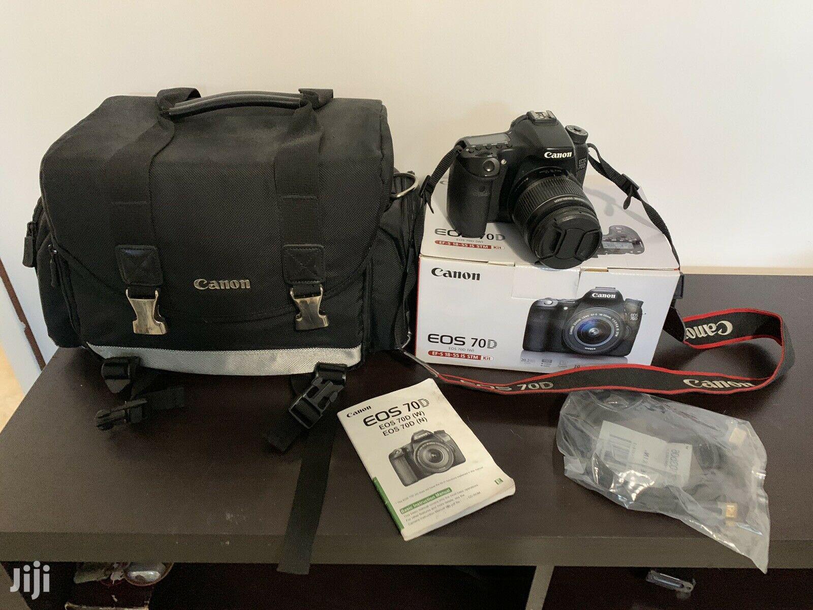 Archive: Canon EOS 70D 20.2mp Digital Slr Camera