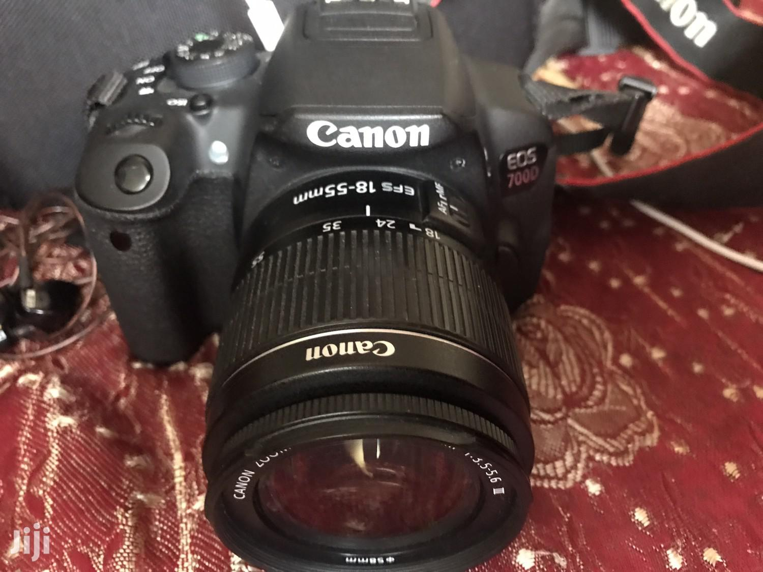 Archive: Canon Eos 700d (T5i) With Kit Lens and Battery