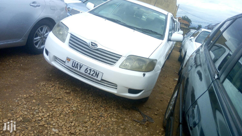 Toyota Corolla 2003 White