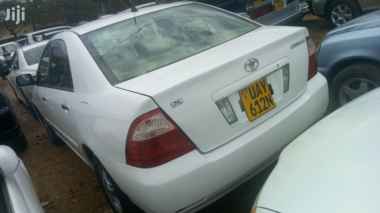 Toyota Corolla 2003 White   Cars for sale in Kampala, Central Region, Uganda