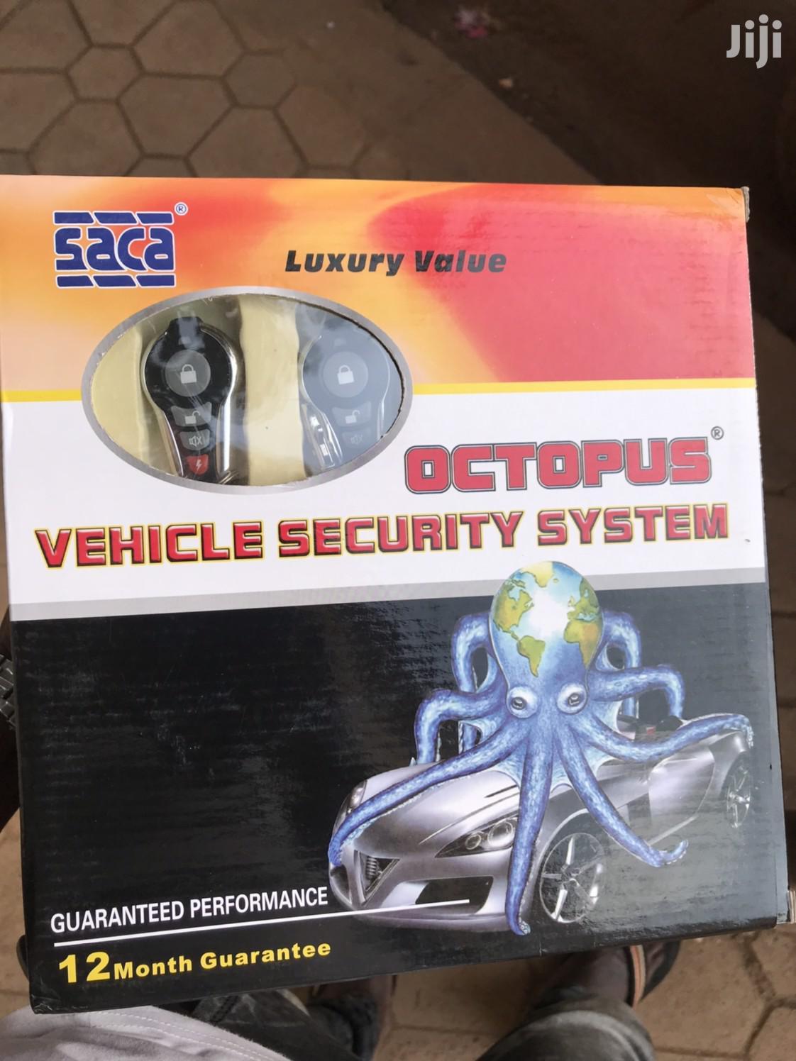 Car Alarm Security System