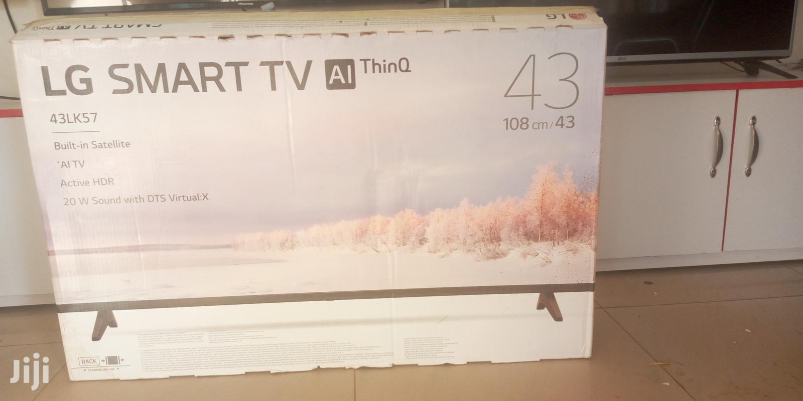 Archive: 43 Inches Led LG Flat Screen Smart