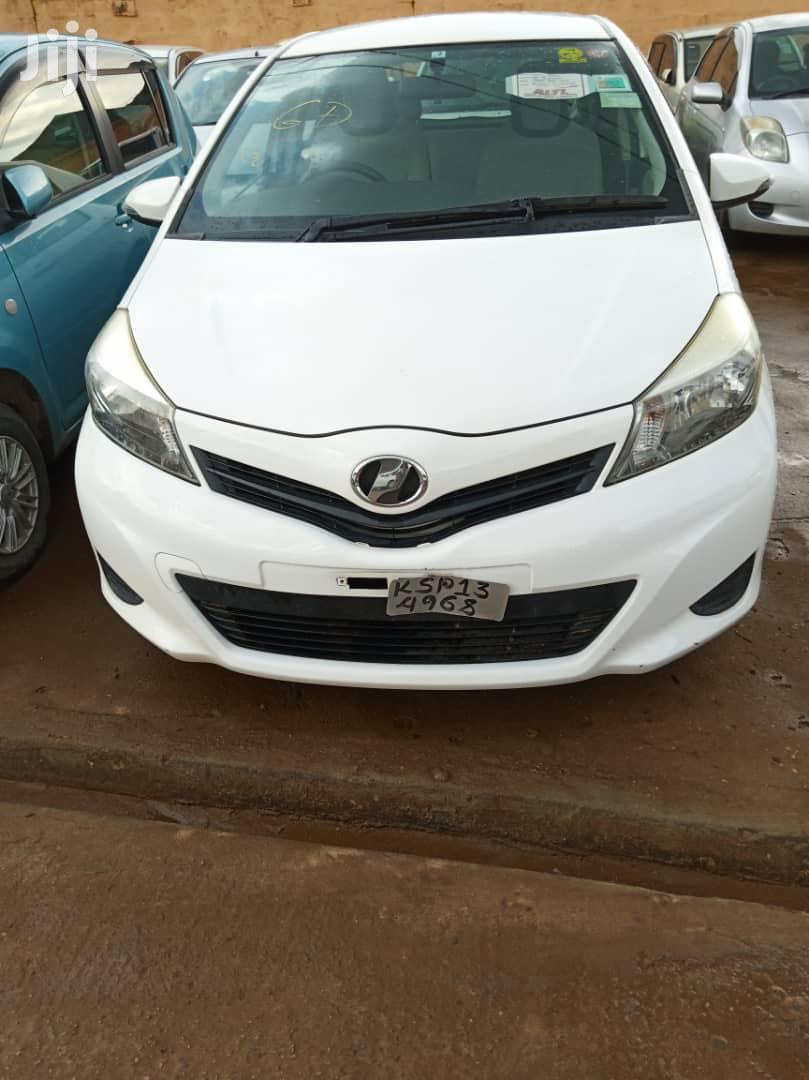 New Toyota Vitz 2011 White   Cars for sale in Kampala, Central Region, Uganda