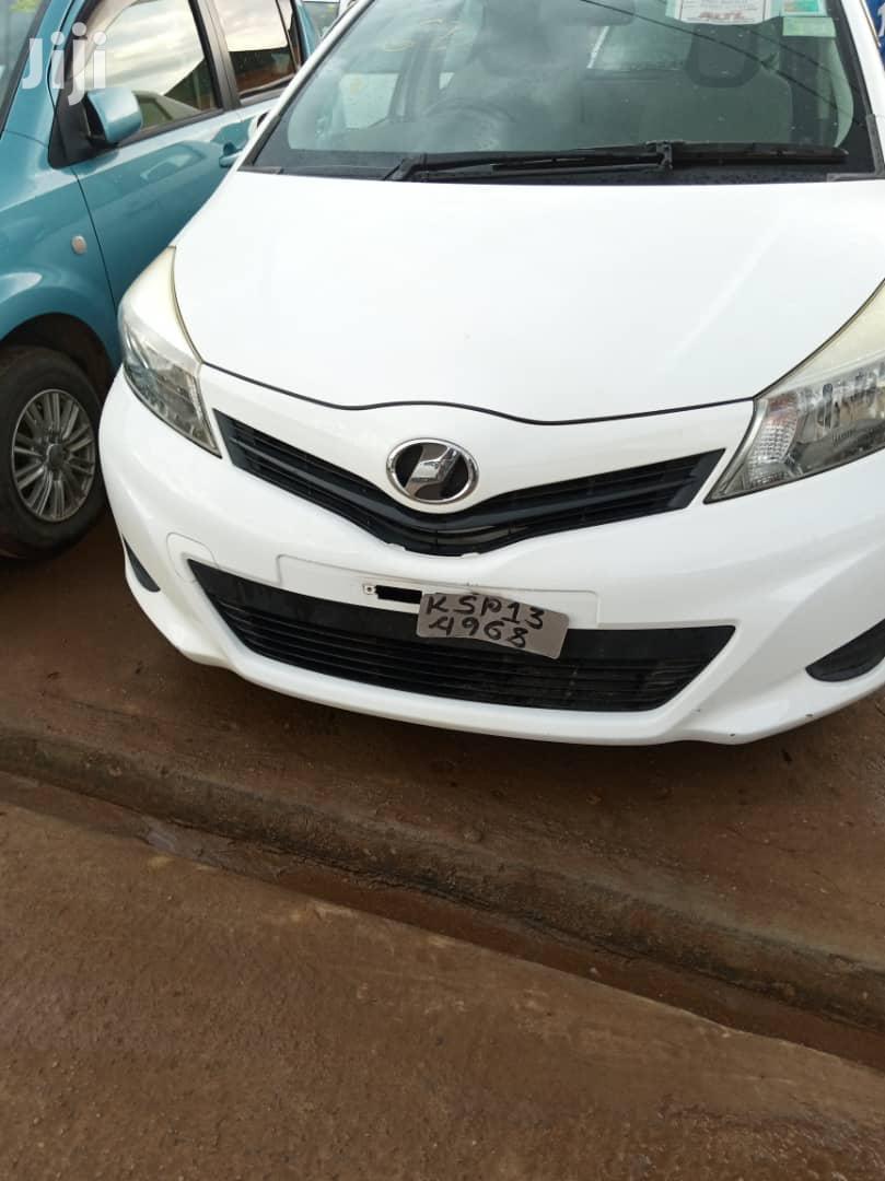 New Toyota Vitz 2011 White