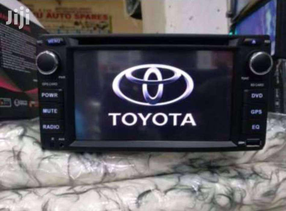 Original Toyota Car Radio