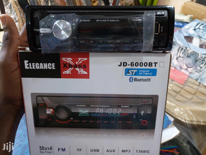 Elegance Bluetooth Car Radio