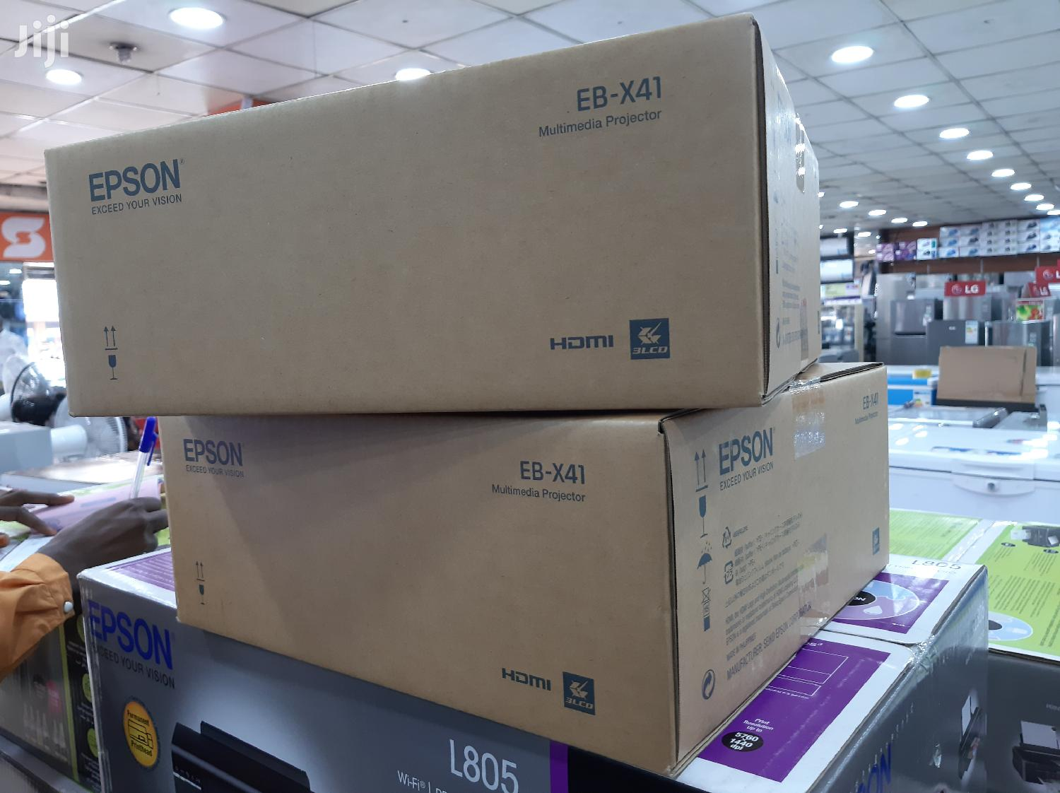 Archive: Brand New Epson Projector EB X41