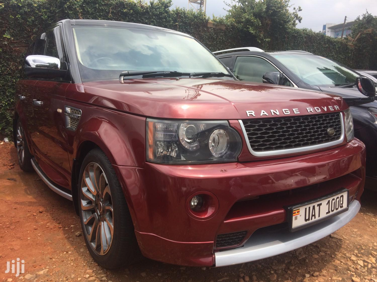 Land Rover Range Rover Sport 2009 Red