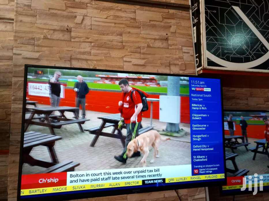 Archive: SONY 50 INCHES SMART ULTRA HD FLAT SCREEN
