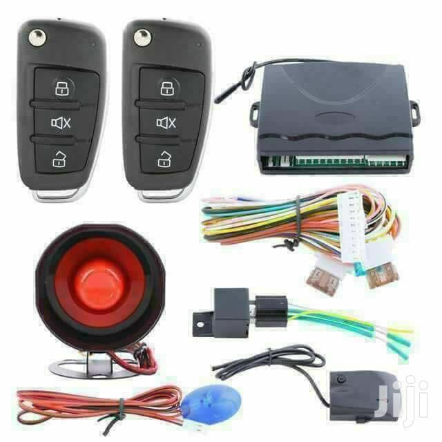 Universal Car Alarm System With Central Door Locking