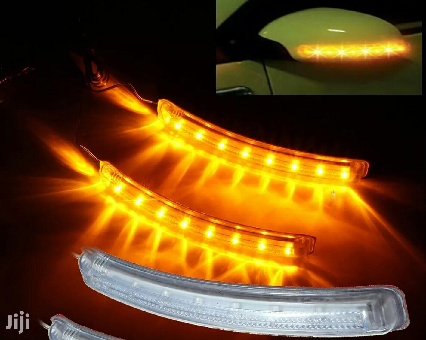 Archive: Universal Soft LED Yellow Side Mirror Light Indicators