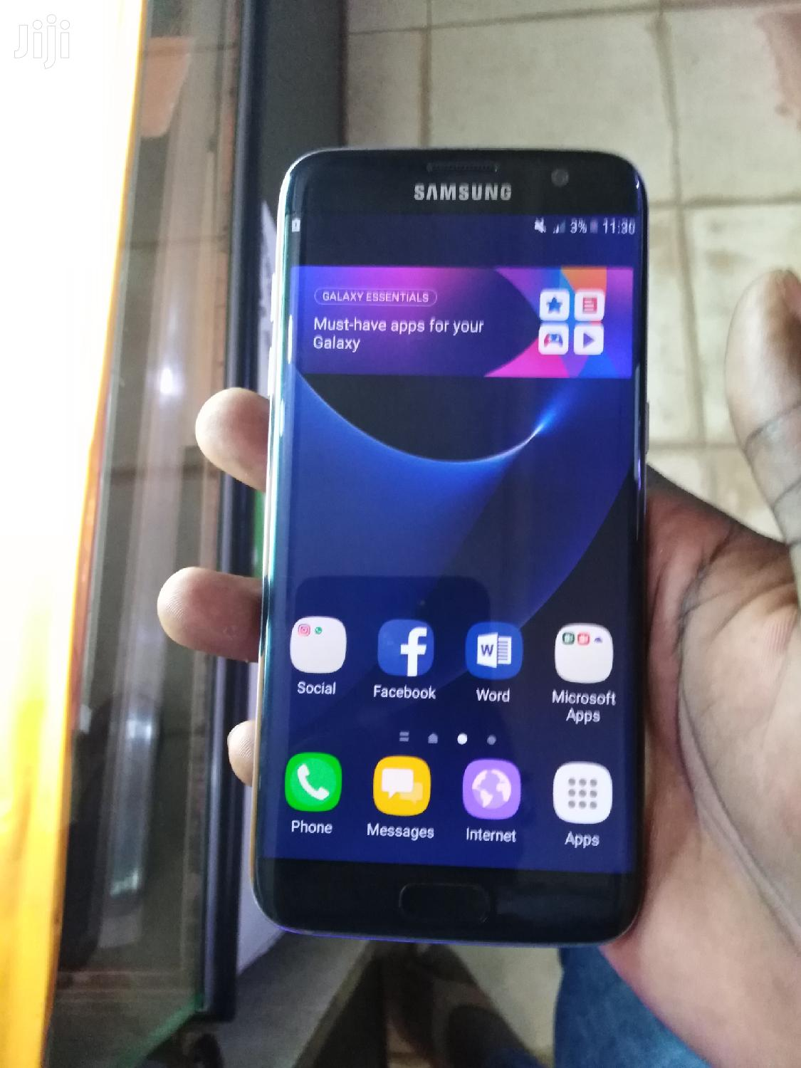 Samsung Galaxy S7 edge 64 GB Black | Mobile Phones for sale in Kampala, Central Region, Uganda