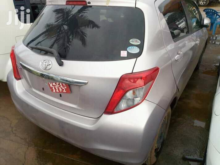 New Toyota Vitz 2011 Silver   Cars for sale in Kampala, Central Region, Uganda
