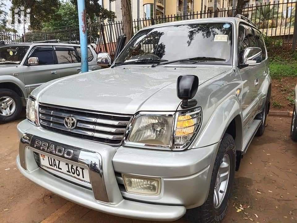 Toyota Land Cruiser Prado 2000 Silver | Cars for sale in Kampala, Central Region, Uganda