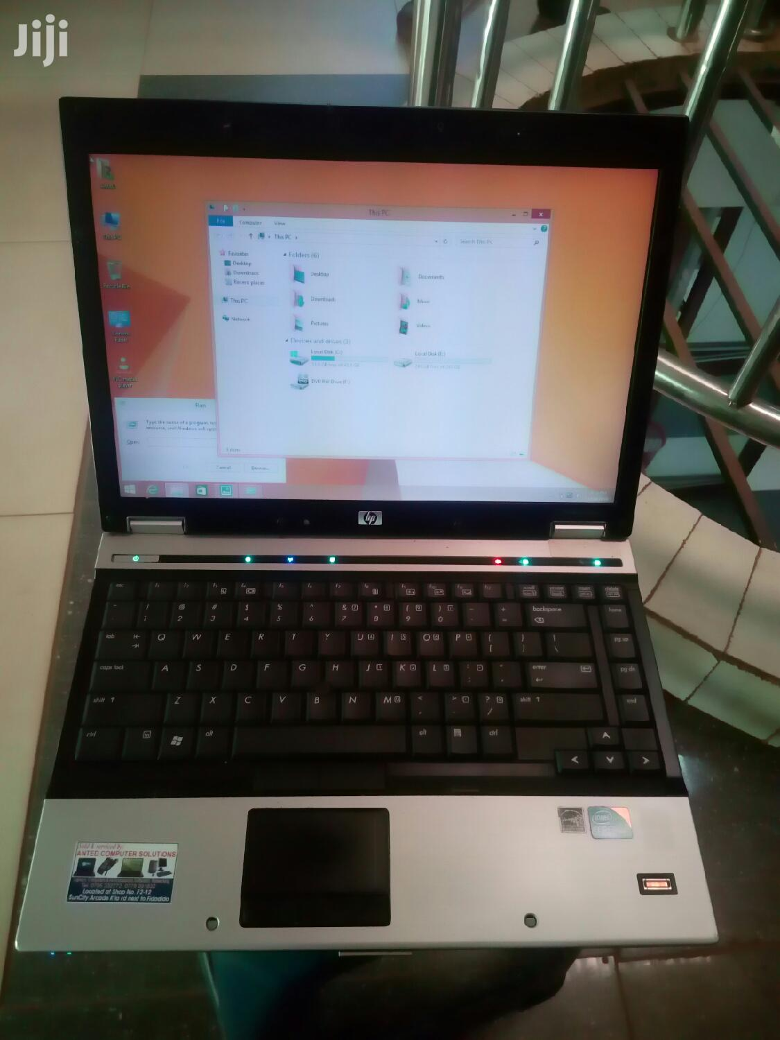 Laptop HP EliteBook 6930P 2GB Intel Core 2 Duo HDD 160GB | Laptops & Computers for sale in Kampala, Central Region, Uganda