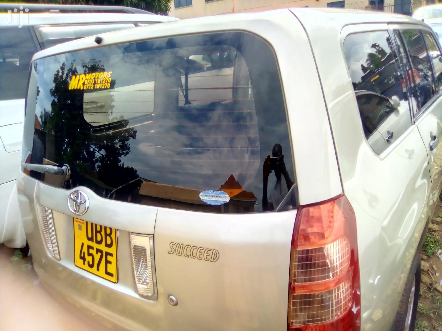 Archive: Toyota Succeed 2009 Gold