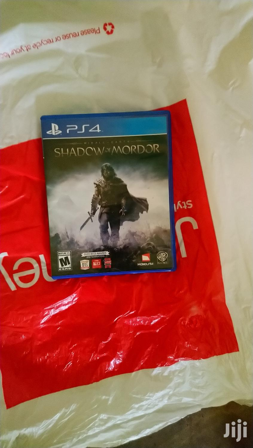 Archive: Shadow In Mordor Ps4 Game