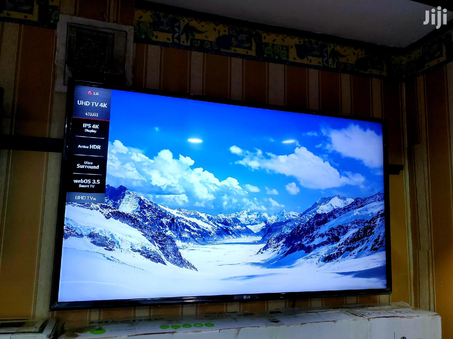 Brand New LG Smart Uhd 4k Webos Tv 43 Inches